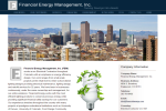 Financial Energy Management